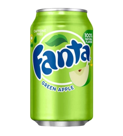 Fanta Green Apple - 35,5cl