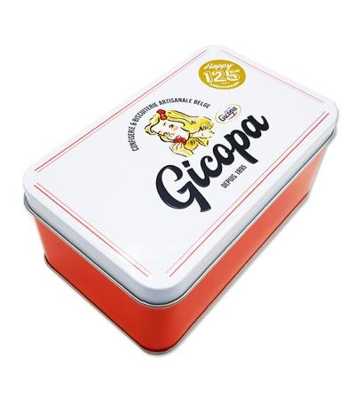 Gicopa Boîte en métal Vintage avec Violettes - 200 g