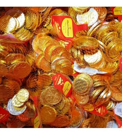 Chocolade munten - 50 net x 100 g