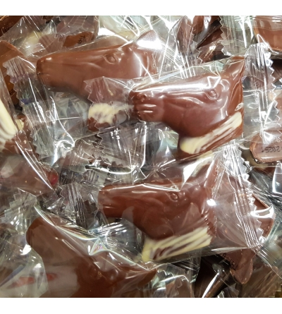 Praline Cheval chocolat et noisette- 1 kg