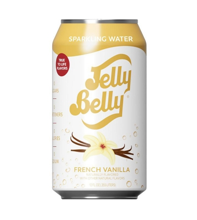 Jelly Belly Eau gazeuse French Vanilla - 35,5cl