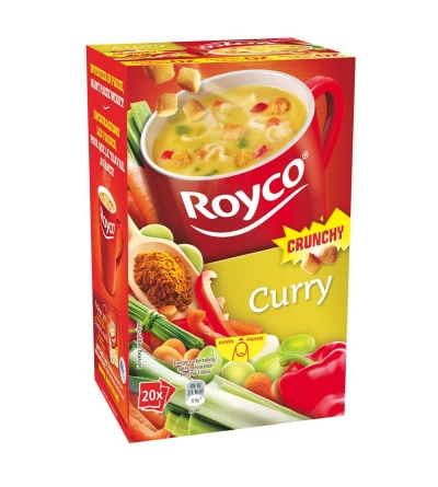 Royco Curry Crunchy - 20 pièces