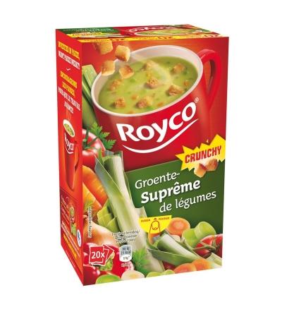 Royco Suprême de légumes Crunchy - 20 pièces