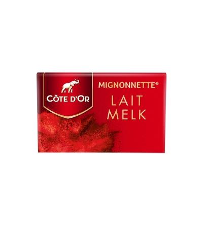 Mignonnette au lait côte d'or 10 g x 120 pièces